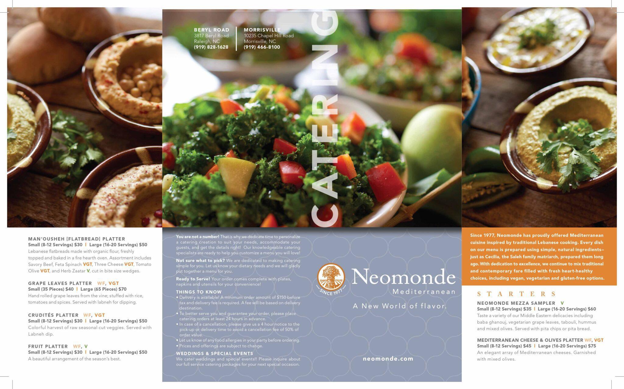 Neomonde Restaurant - Raleigh Restaurant - Restaurant Review-3